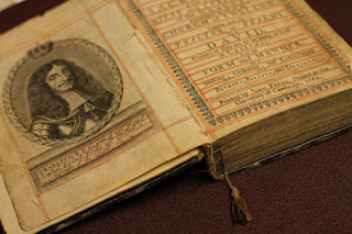 1662--Book of Common Prayer, laid flat