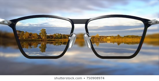 3d-illustration-clear-vision-through-260nw-750908974